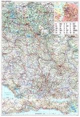 Serbien Montenegro Karte