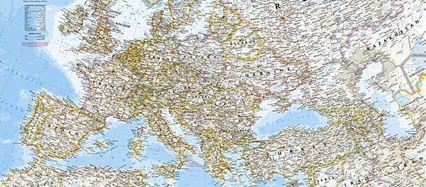 Kontinentkarten. Große Auswahl an Landkarten von Kontinenten.